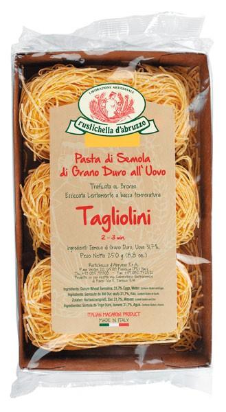 Tagliolini - Eierbandnudeln
