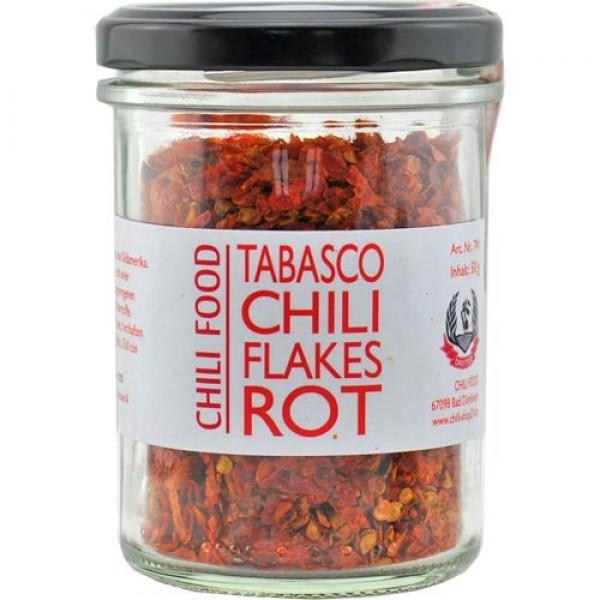 Tabasco Chili rot geschrotet
