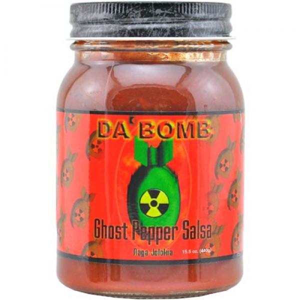 Da Bomb Ghost Pepper Salsa B-Ware