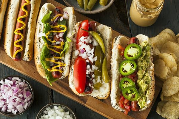 Hot Dogs für Feinschmecker