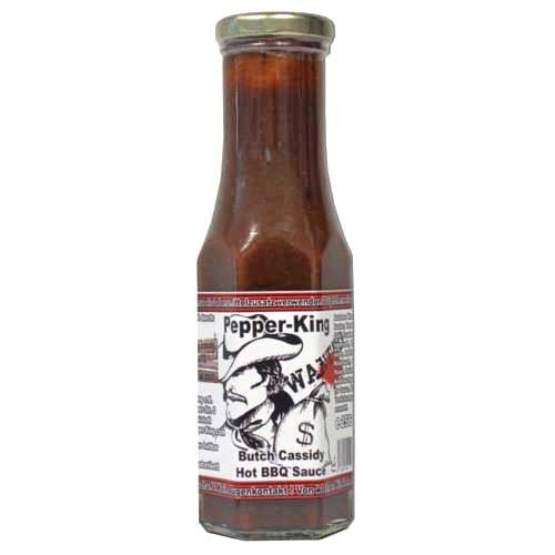 Pepper King Butch Cassidy Hot BBQ Sauce