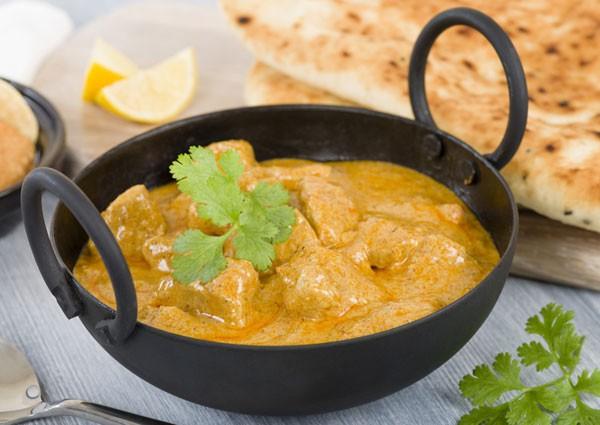 Chicken Korma - Hühnchen mit Mandelsauce
