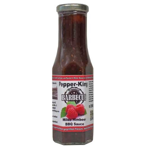 Pepper King Milde Himbeer BBQ Sauce