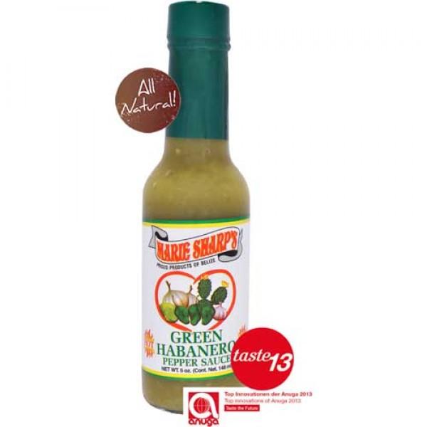 Marie Sharps Green Habanero Sauce