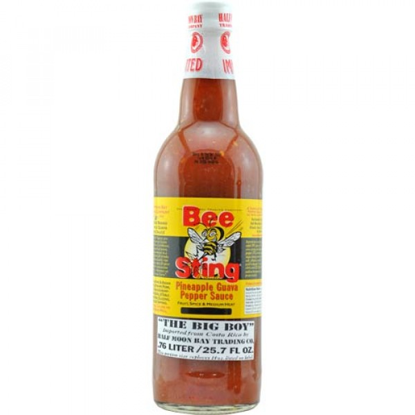 Bee Sting Pineapple Guave Pepper Sauce 0,76 Liter B-Ware