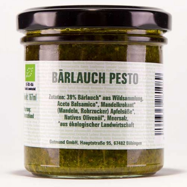 Bärlauch-Pesto mit Chili – BIO –