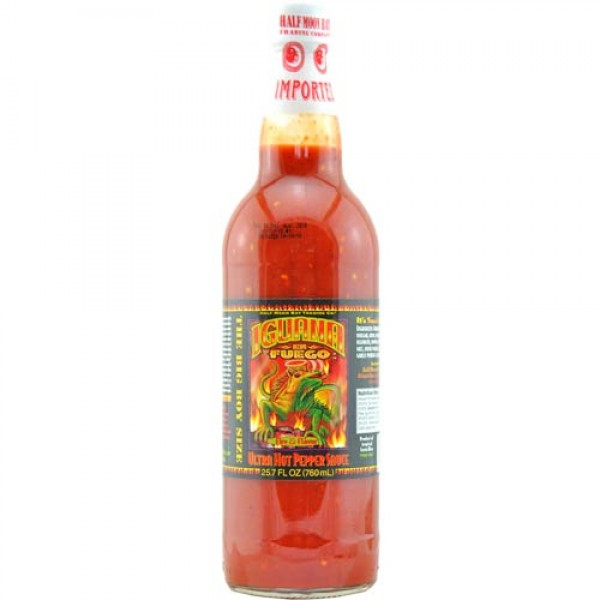 "Iguana ""En Fuego"" Ultra Hot Pepper Sauce 0,76 Liter"