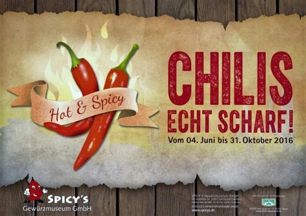 Chili-Sonderausstellung im Spicys