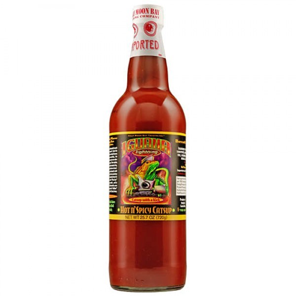 Iguana Lightning Hot n Spicy Ketchup 720g
