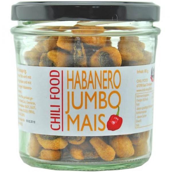 Jumbo Mais geröstet mit Habanero