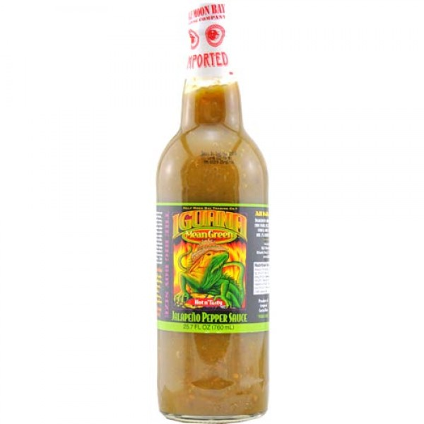 Iguana Mean Green Jalapeno Pepper Sauce 0,76 Liter
