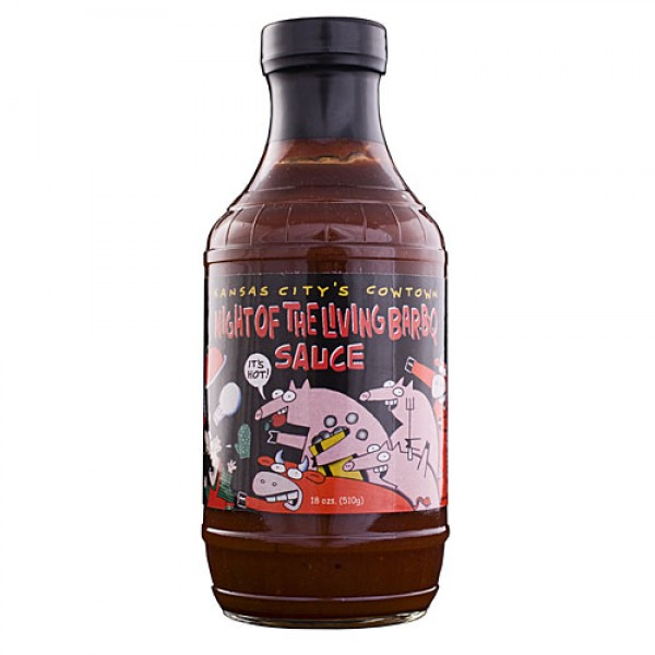 Night of the Living Barbecue Sauce