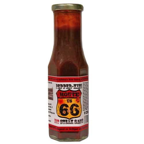 Pepper King Route 66 Steak Sauce hot