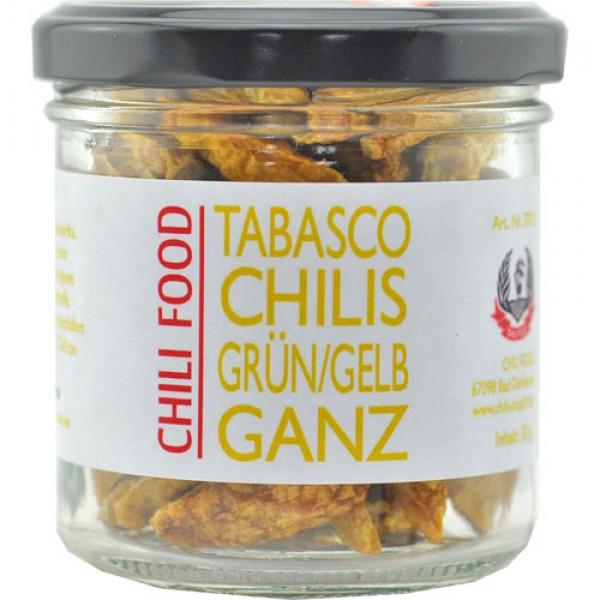 Tabasco Chili grün/gelb ganz