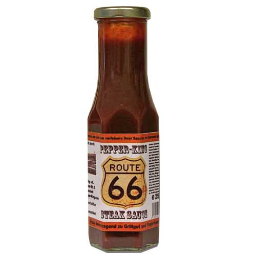 Pepper King Route 66 Steak Sauce mild