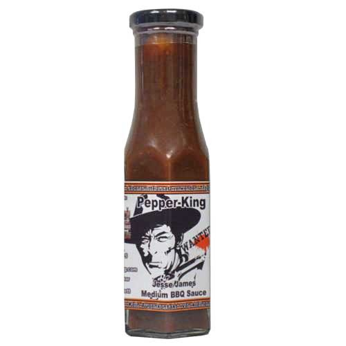 Pepper King Jesse James Medium BBQ Sauce