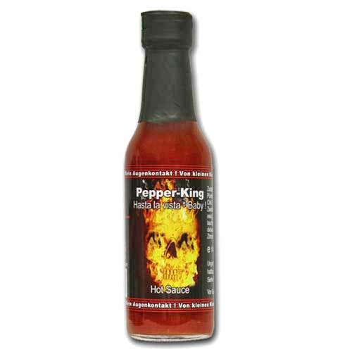 Pepper King Hasta La Vista Baby Hot Sauce