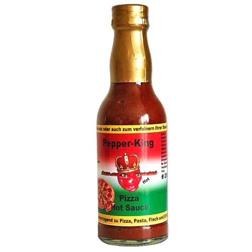 Pepper King Pizza Sauce Hot