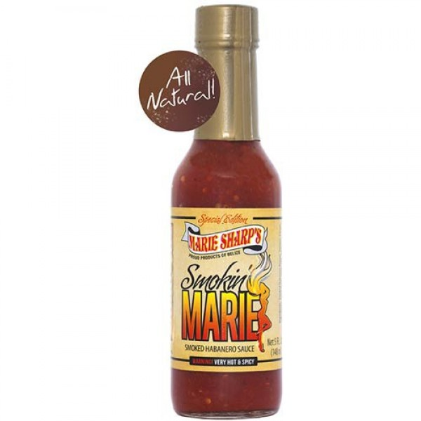 Marie Sharps Smokin Marie Hot Sauce