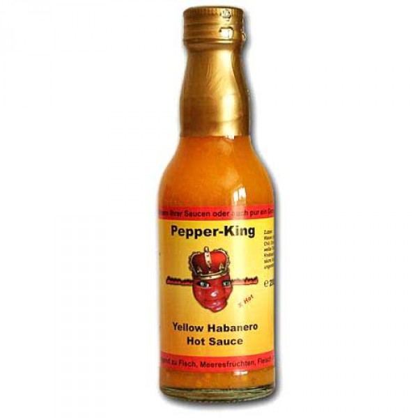 Pepper King Yellow Habanero Hot Sauce