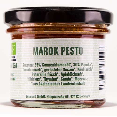 Marok Pesto -BIO-