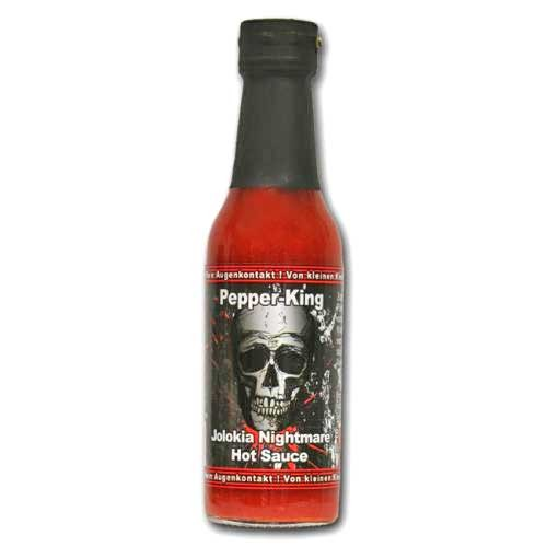 Pepper King Jolokia Nightmare Hot Sauce