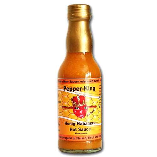 pepper king honig habanero hot sauce chili chili food. Black Bedroom Furniture Sets. Home Design Ideas
