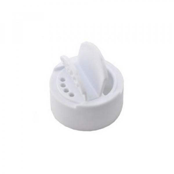 Duo Flapp-Deckel weiß für Glasgewürzstreuer