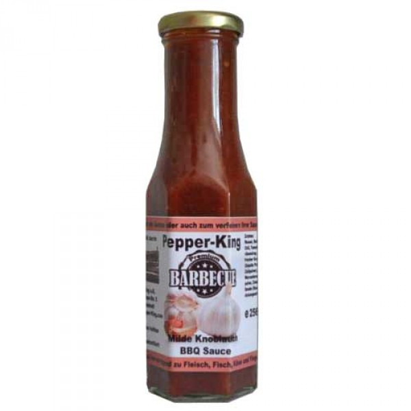 Pepper King Milde Knoblauch BBQ Sauce