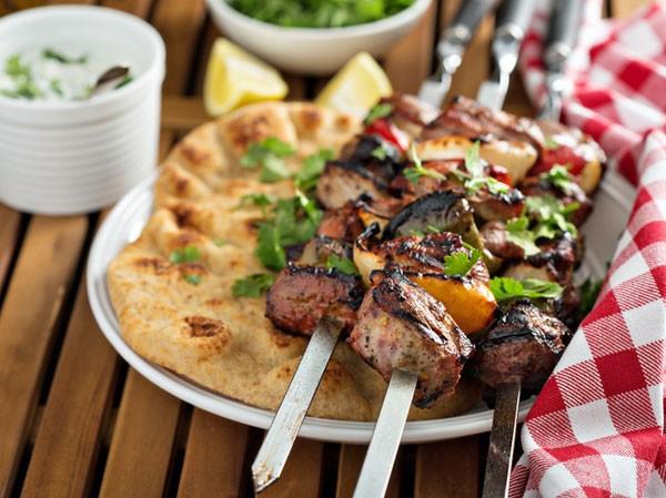 Shish Kebab (Lamm-Spieße)