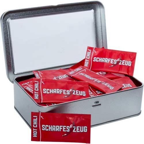 Scharfes Zeug - 50 Päckchen in Dose
