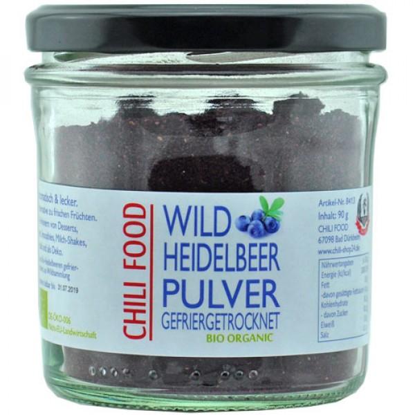 Bio Heidelbeerpulver gefriergetrocknet