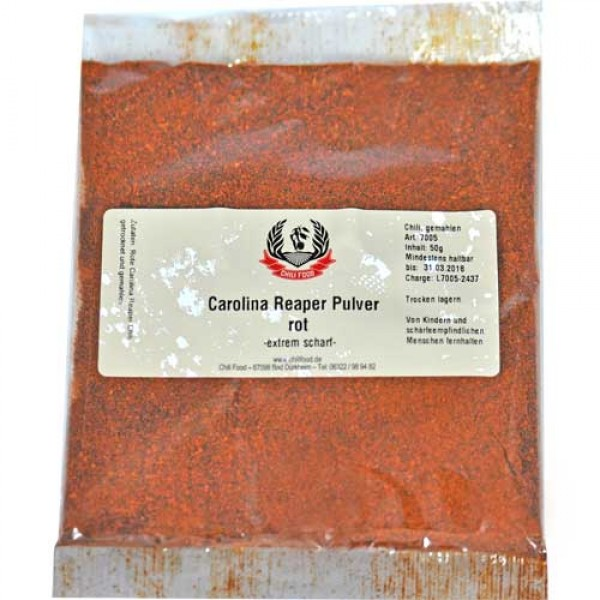 Carolina Reaper Chilipulver 1000g