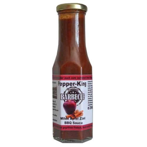 Pepper King Milde Apfel-Zimt BBQ Sauce