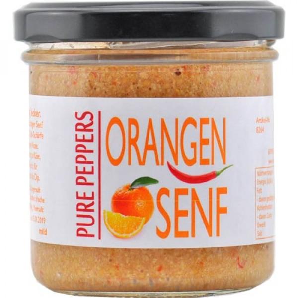 Orangen Senf B-Ware