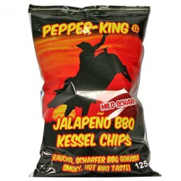 Pepper King BBQ Jalapeno Chips