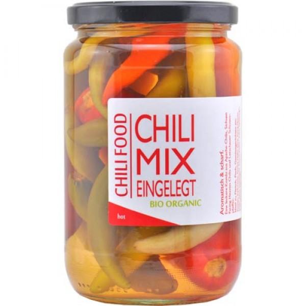 Bio Chili Mix eingelegt