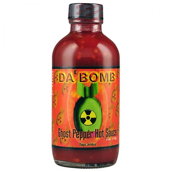 da bomb ghost pepper chili sauce