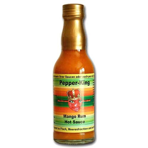 Pepper King Mango Rum Hot Sauce