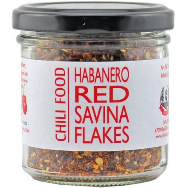 Red Savina Habanero Chili geschrotet