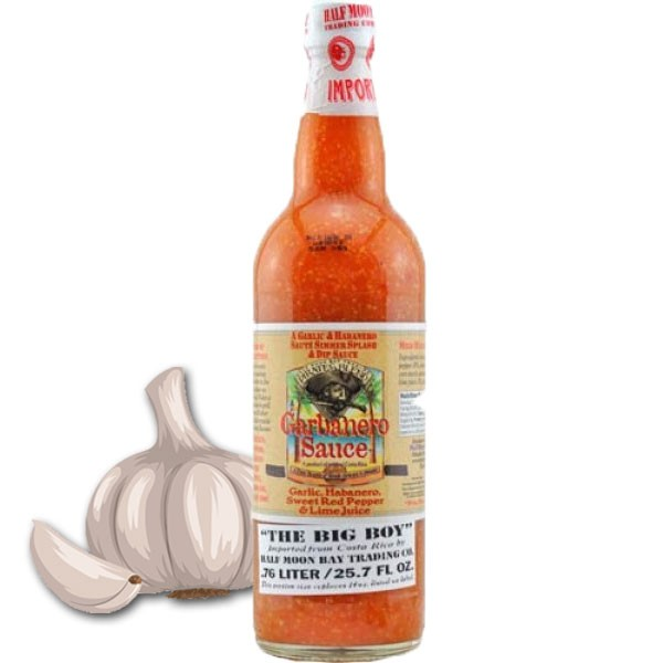 Pirates Blend Garbanero Knoblauch Sauce 0,76 Liter