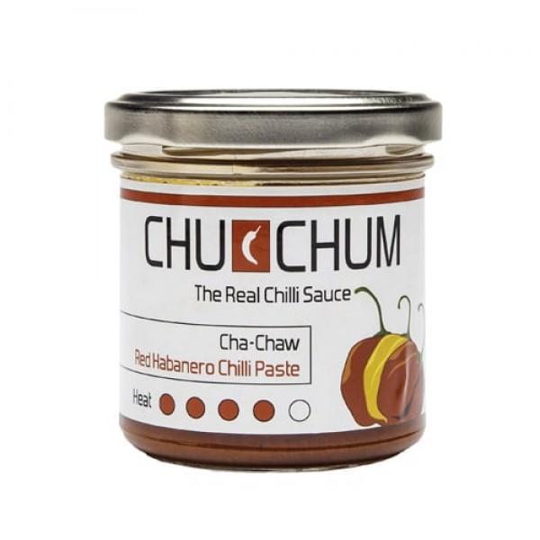 Cha-Chaw Red Habanero Chili Sauce B-Ware