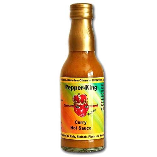 Pepper King Curry Sauce medium