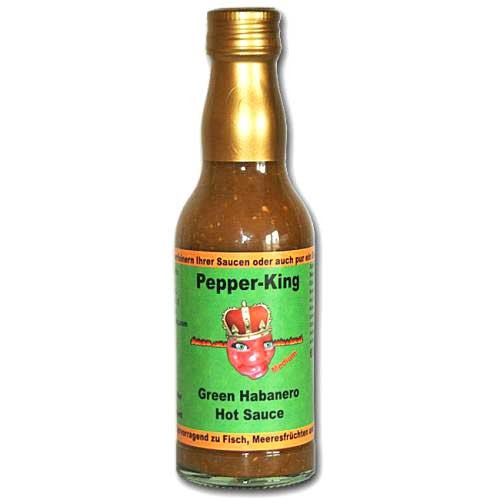 Pepper King Green Habanero Hot Sauce