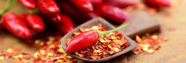 Chili Flocken, geschrotet